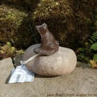 Garten Tiere Gusseisen Stein Unikat Gartendeko Dekoartikel Frosch TT153