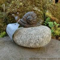 Garten Tiere Gusseisen Stein Unikat Gartendeko Dekoartikel Schnecke TT153
