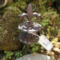 Gartenschlauchführung Lilie Gusseisen Garten...