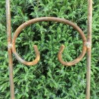 Gartenstecker Edelrost Rost Deko Garten Gartendeko Dekoration Krone 11596.116