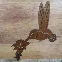 Kolibri Vogel Edelrost Rost Gartendekoration Deko Garten Gartendeko 137614
