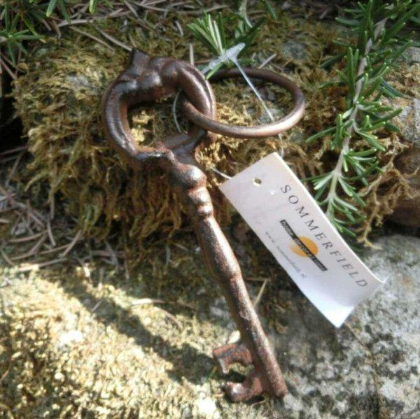 Schlüssel Dekoschlüssel Dekoartikel Gusseisen Gartendeko Deko Landhaus ES898