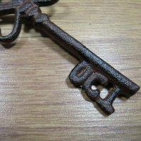 Schlüssel Dekoschlüssel Dekoartikel Gusseisen Gartendeko Wanddeko WD1730-OCT
