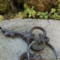 Schlüsselbund Gusseisen Schlüssel Dekoartikel Dekoration Landhaus Garten WD547
