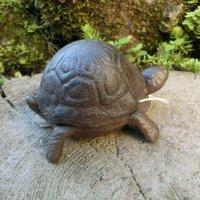 Schlüsselversteck Gusseisen Schildkröte Deko...