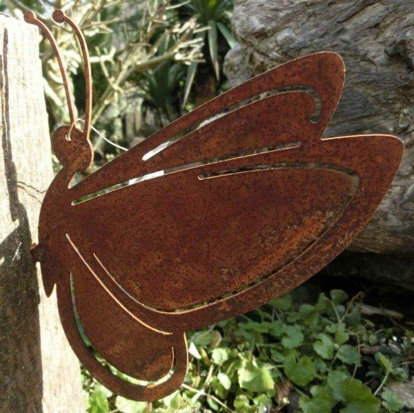 Schmetterling Edelrost Rost Gartendekoration Deko Garten Gartendeko 137071