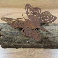 Schmetterling Edelrost Rost Gartendekoration Deko Garten Gartendeko 137374