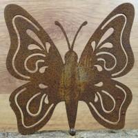 Schmetterling Edelrost Rost Gartendekoration Deko Garten Gartendeko 137375