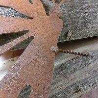 Schmetterling Edelrost Rost Gartendekoration Deko Garten Gartendeko 802016