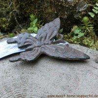 Schmetterling Gusseisen Gartendeko Wanddeko Landhaus Garten Deko TT174