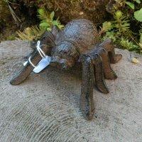 Spinne groß Gusseisen Deko Gartendeko Dekoartikel...