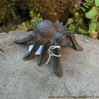 Spinne groß Gusseisen Deko Gartendeko Dekoartikel Landhaus Insekt Garten 50-270L