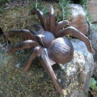 Spinne Gusseisen Wandbefestigung Gartendeko Dekoartikel...