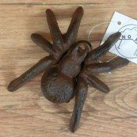Spinne klein Gusseisen Deko Gartendeko Wanddekoration...