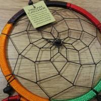 Traumfänger Dreamcatcher Traum Träume Federn Indianer Perlen bunt 16 cm 8530026