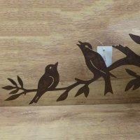 Vogel Vögel Tiere Edelrost Rost Gartendekoration Garten Gartendeko Deko 802013