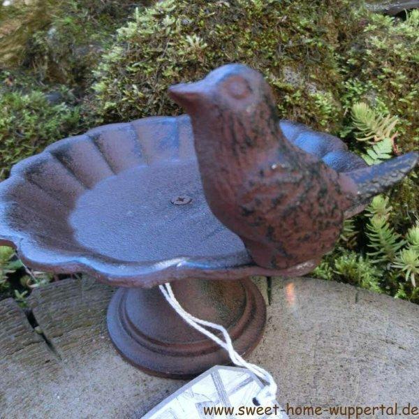 Vogeltränke Gusseisen Vogel Vogelfutterschale Vogelbad Vogel Tränke FB164
