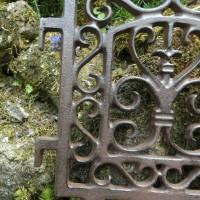 Beetbegrenzung Beeteinfassung Beetzaun Gusseisen Zaun Pflanzenschutz Deko PS13