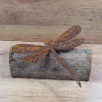 Libelle Edelrost Rost Gartendekoration Deko Garten Gartendeko 137646