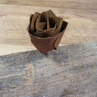 Rose Rosenblüte Blume Blüte Edelrost Rost Gartendekoration Deko Garten 17074