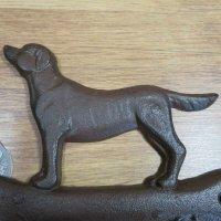 Garderobenhaken Garderobenleiste Hakenleiste Garderobe Hund Knochen LH231