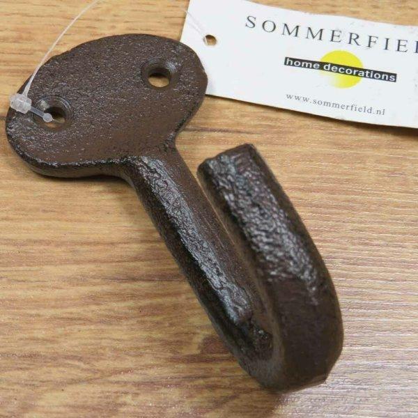 Garderobenhaken Gusseisen Kleiderhaken Wandhaken Landhaus Sommerfield HK347-B